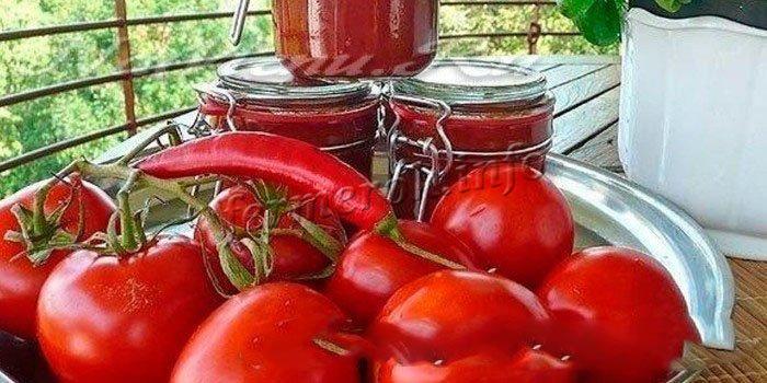 Рецепт томатного сока в домашних условиях с чили