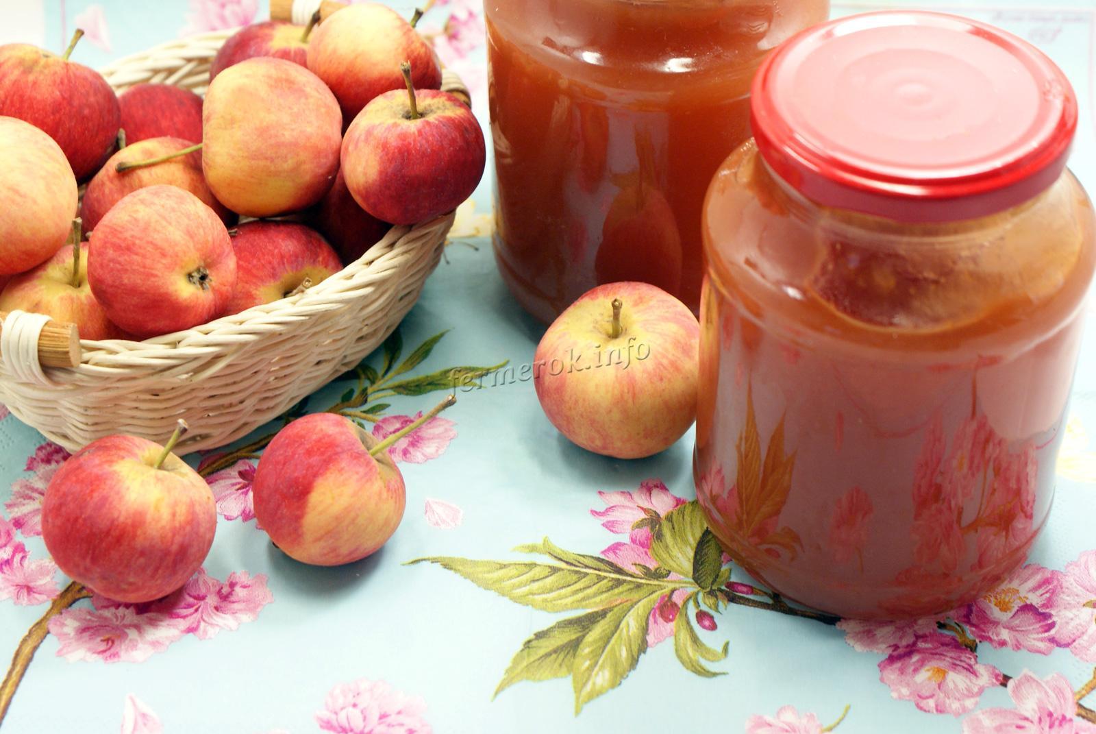 Рецепт яблочного повидла на зиму в домашних условиях