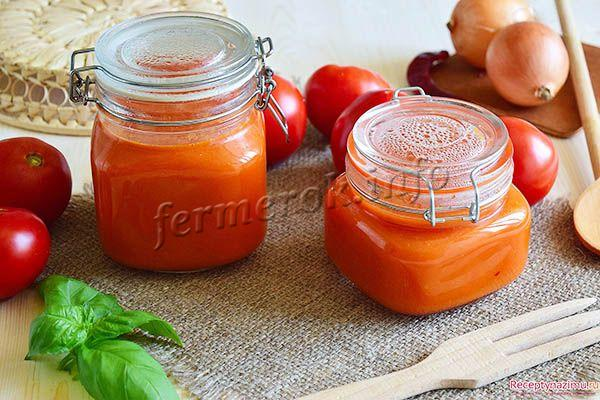 Фото домашнего кетчупа в мультиварке