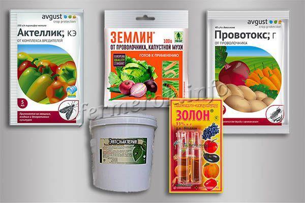 Фото препаратов для борьбы с вредителями редиса