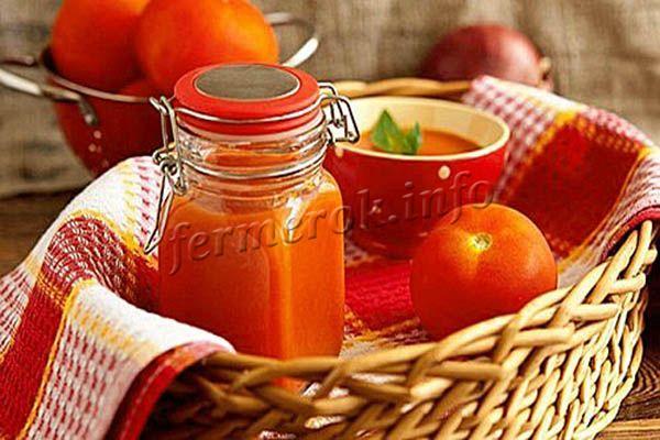 Фото простого кетчупа из помидоров