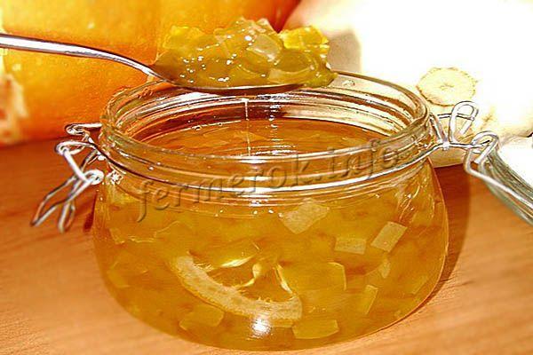 Фото варенья из тыквы с лимоном