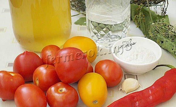 Фото помидоров с чесноком и медом