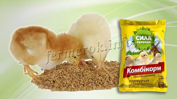 Рассыпчатая смесь подходит больше для цыплят и молодняка, которые содержатся без выгула