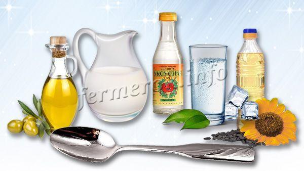 Измерение в граммах жидких продуктов