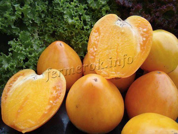 Вес плодов 110-140 г, мякоть мясистая
