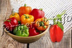 Урожайные сорта перца