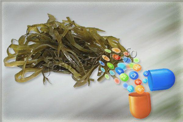 Витамины в морской капусте