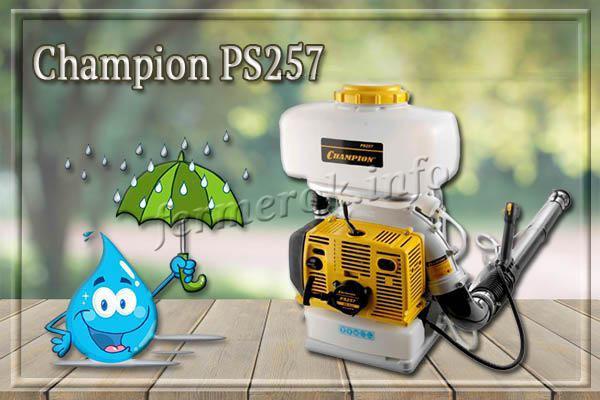 Фото садового опрыскивателя Champion PS257