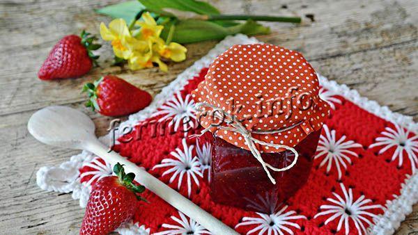 Из клубники Сан Андреас получается вкусный сок, компоты, джемы, а в варенье ягоды сохраняют форму и не разваливаются