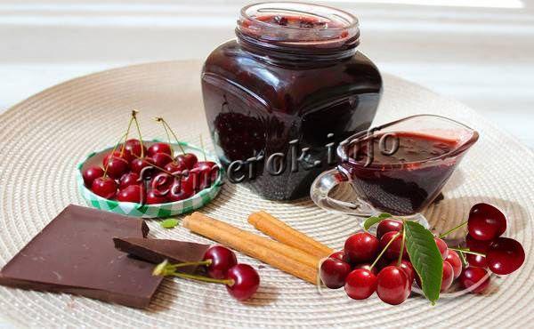 Рецепт джема без косточек «Шоколадно-кофейное наслаждение»