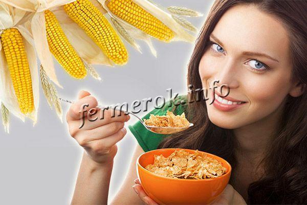 Польза кукурузы для женщин