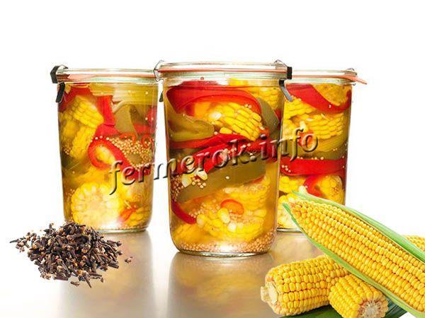 Пряная маринованная кукуруза