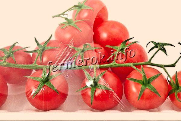 Без кислорода свежие помидоры лежат очень долго, так как замедляются все процессы внутри овоща