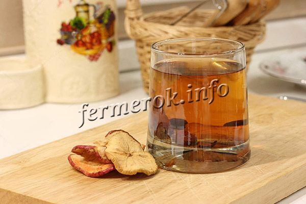 Рецепт домашнего компота из груш сухофруктов
