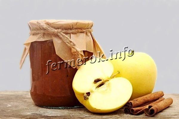 Простой рецепт джема из яблок на зиму