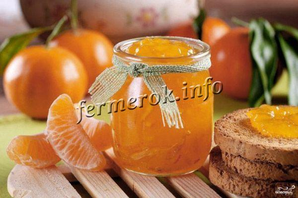 Рецепт апельсинового джема на зиму