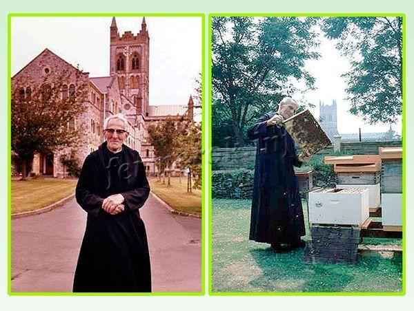 Брат Адам из аббатства Бакфаст в Англии