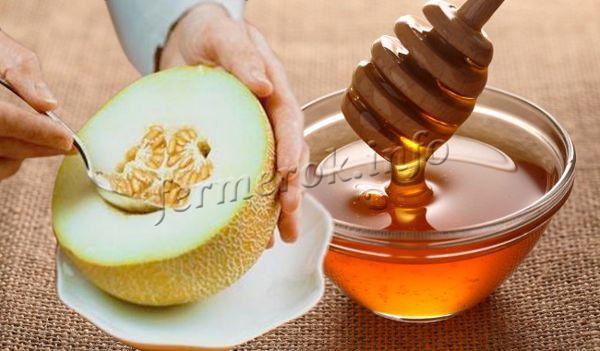 Семена дыни с медом улучшают потенцию и стимулируют выработку сперматозоидов