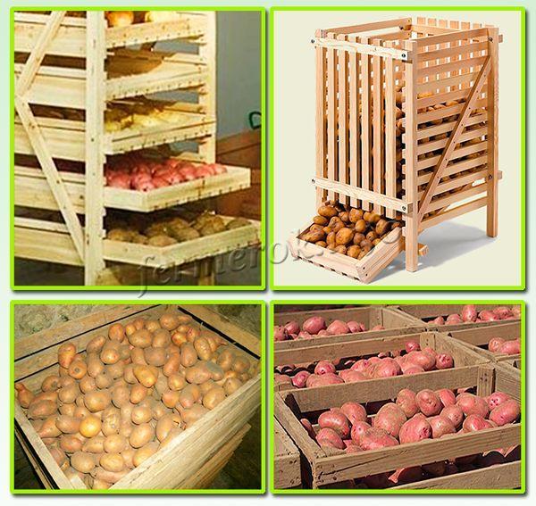 Как сделать закром для картошки 884